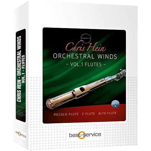 Best Service Chris Hein Orchestral Winds Vol 1 - Flutes-thumbnail