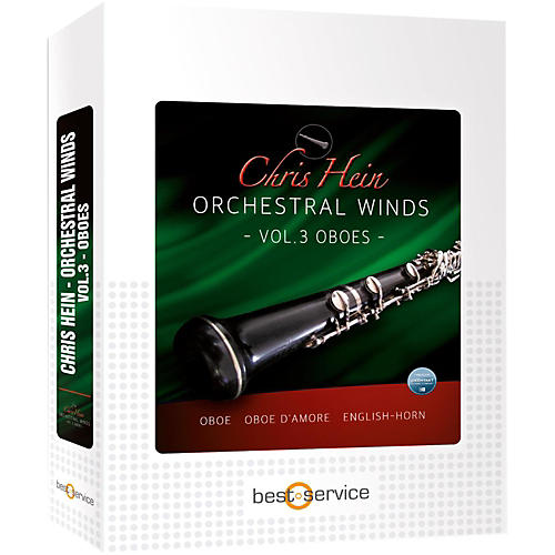Best Service Chris Hein Orchestral Winds Vol 3 - Oboes-thumbnail