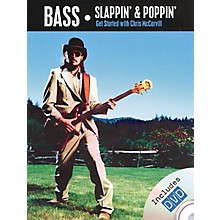 Rock House Chris McCarvill - Bass Slappin' and Poppin' Music Sales America Softcover with DVD by Chris McCarvill