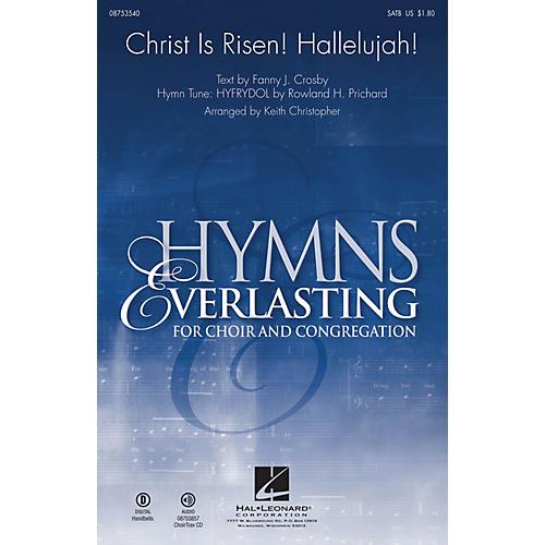 Hal Leonard Christ Is Risen! Hallelujah! SATB arranged by Keith Christopher-thumbnail