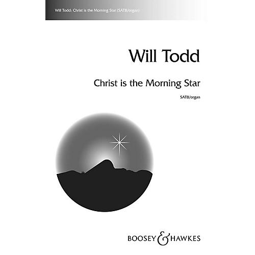Boosey and Hawkes Christ Is the Morning Star SATB composed by Will Todd-thumbnail