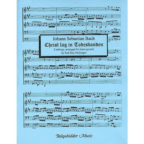 Carl Fischer Christ Lag in Todesbanden Book