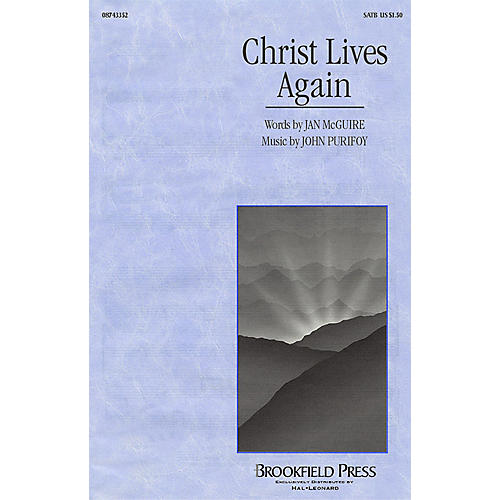 Hal Leonard Christ Lives Again SATB composed by John Purifoy-thumbnail