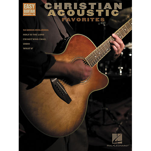 Hal Leonard Christian Acoustic Favorites Songbook w/Tab