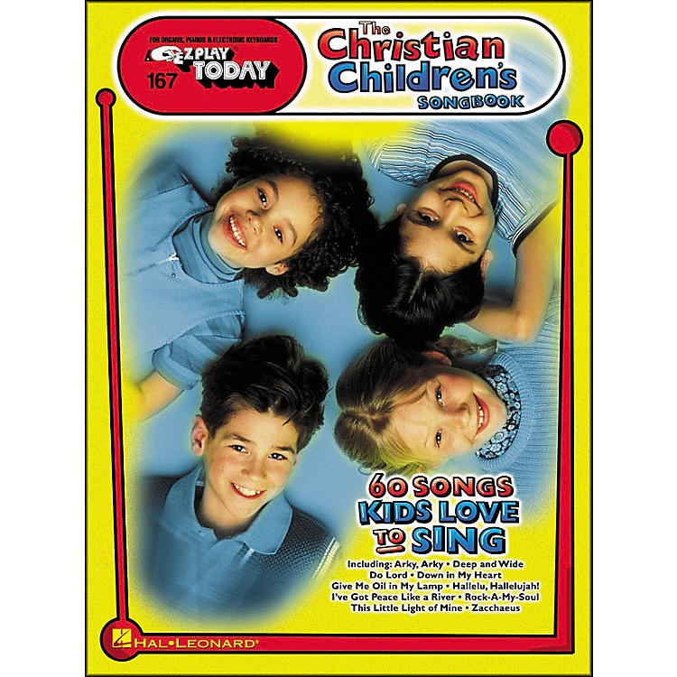 Hal LeonardChristian Children's Songbook (60 Songs Kids Love To Sing) E-Z Play 167