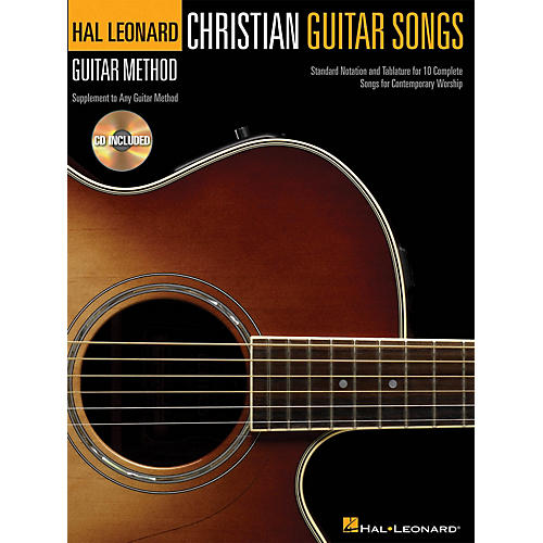 Hal Leonard Christian Guitar Songs (Hal Leonard Guitar Method) Guitar Method Series Softcover with CD by Various-thumbnail