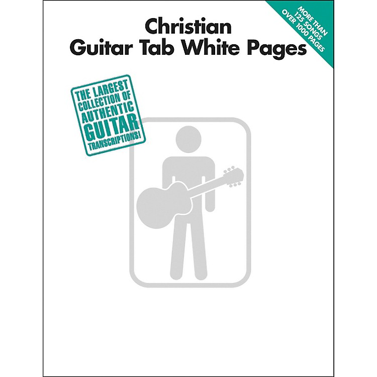 Hal Leonard Christian Guitar Tab White Pages