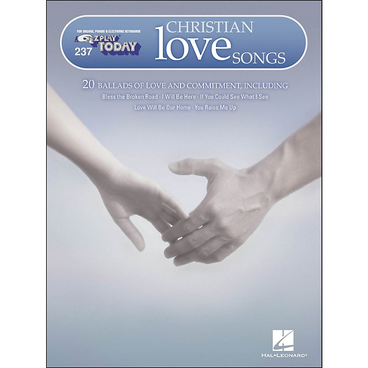 Hal Leonard Christian Love Songs E-Z Play 237