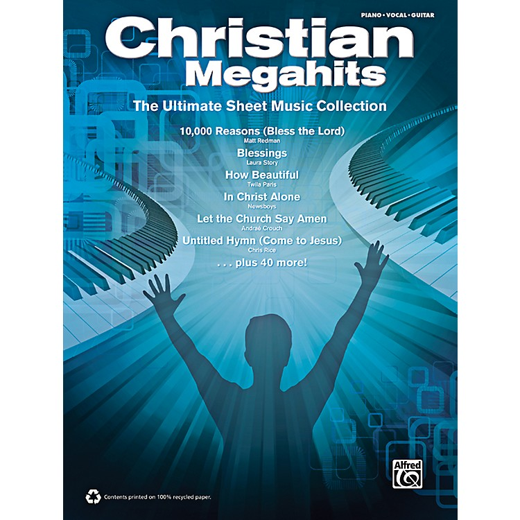 AlfredChristian Megahits: The Ultimate Sheet Music Collection P/V/G Book