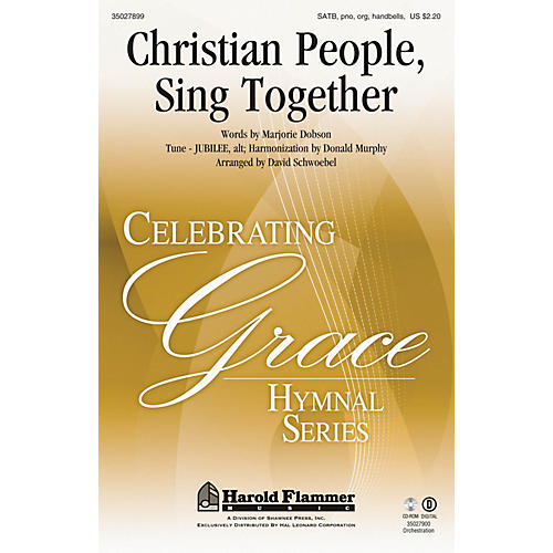 Shawnee Press Christian People, Sing Together SATB, PIANO AND ORGAN arranged by David Schwoebel