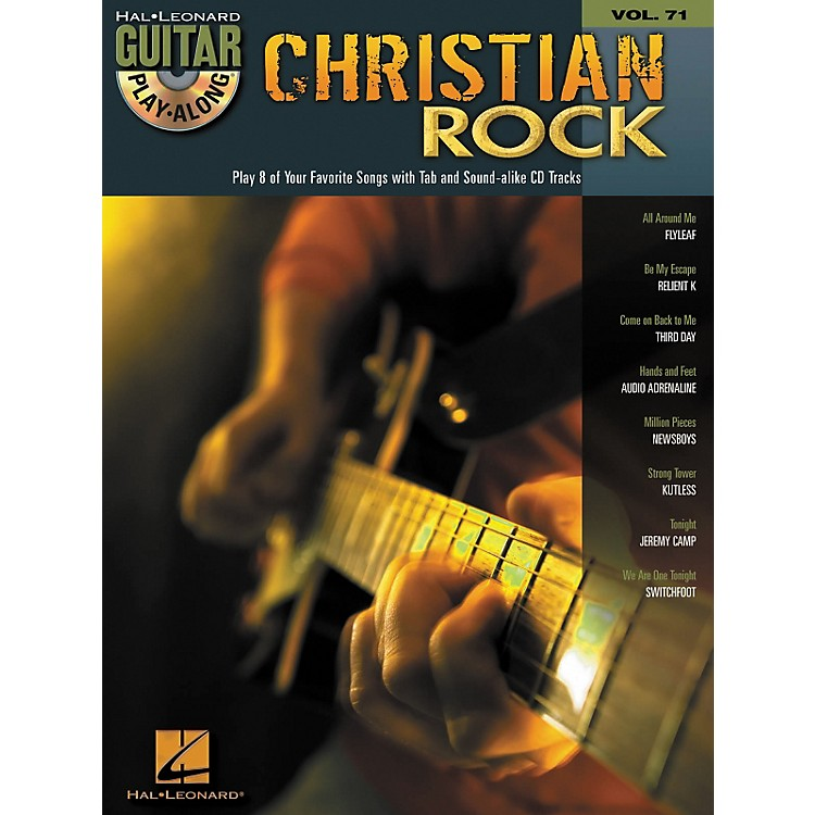 Hal Leonard Christian Rock Guitar Play-Along Volume 71 Book/CD