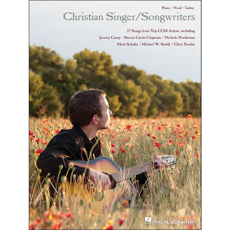 Hal Leonard Christian Singer/Songwriters arranged for piano, vocal, and guitar (P/V/G)