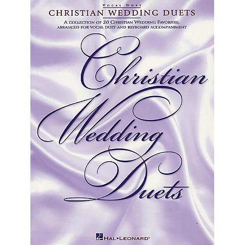 Hal Leonard Christian Wedding Duets