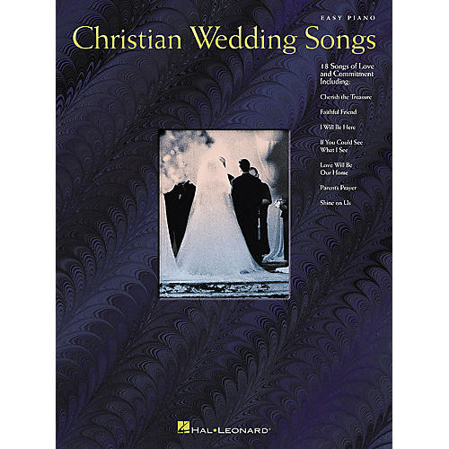 Hal Leonard Christian Wedding Songs For Easy Piano