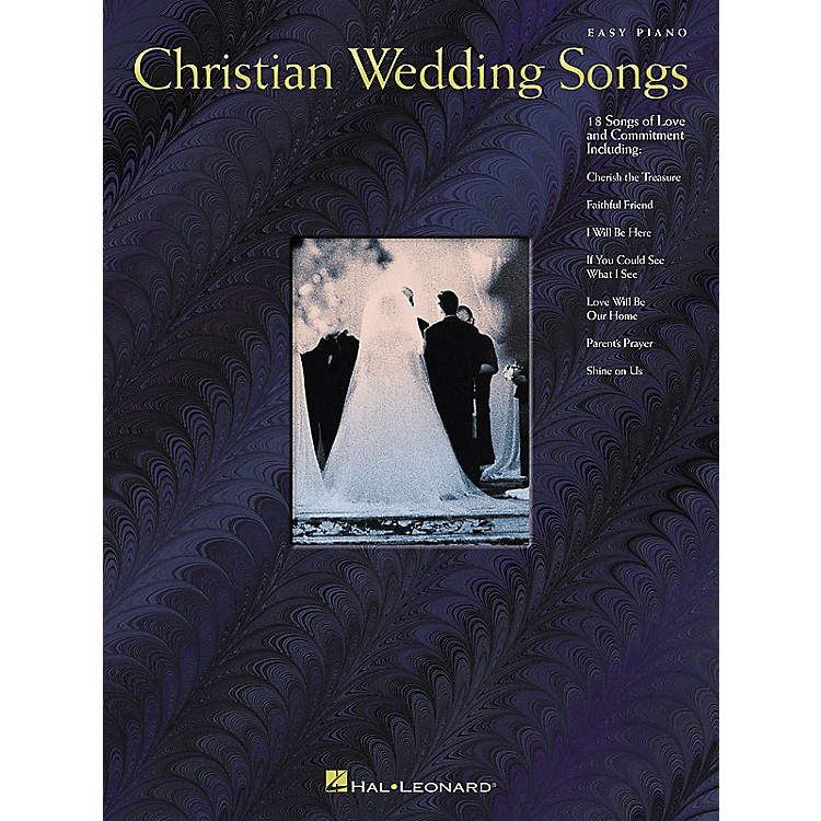 Hal LeonardChristian Wedding Songs For Easy Piano