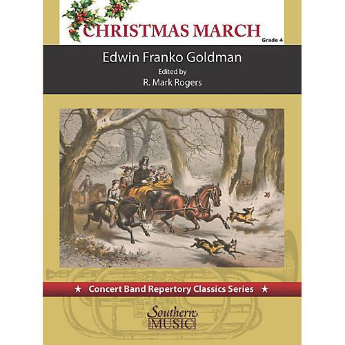 Southern Christimas March (for Concert Band) Concert Band Level 4-thumbnail