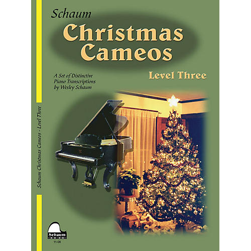 SCHAUM Christmas Cameos (Level 3 Early Inter Level) Educational Piano Book-thumbnail