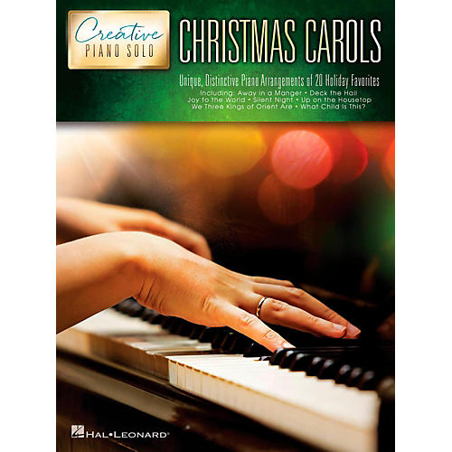 Hal Leonard Christmas Carols - Creative Piano Solo series