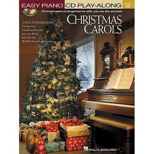 Hal Leonard Christmas Carols - Easy Piano CD Play-Along Volume 28 Book/CD
