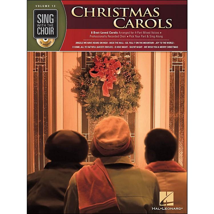 Hal LeonardChristmas Carols - Sing with The Choir Series Vol. 13 Book/CD