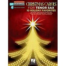 Hal Leonard Christmas Carols - Tenor Sax - Easy Instrumental Play-Along (Audio Online)