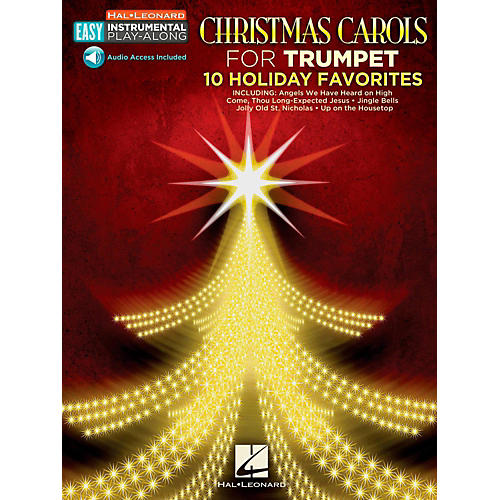 Hal Leonard Christmas Carols - Trumpet - Easy Instrumental Play-Along (Audio Online)