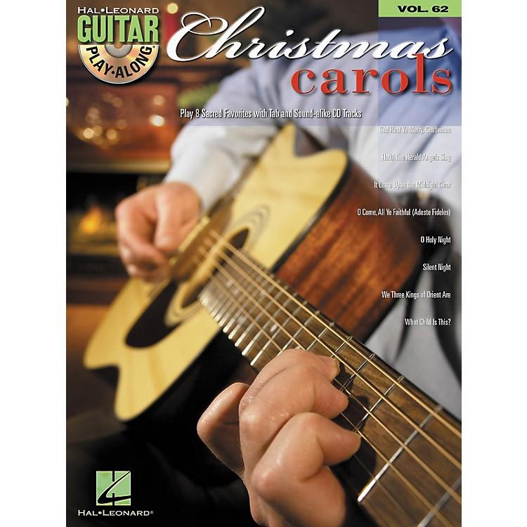 Hal LeonardChristmas Carols Guitar Play-Along Volume 62 Book/CD Set