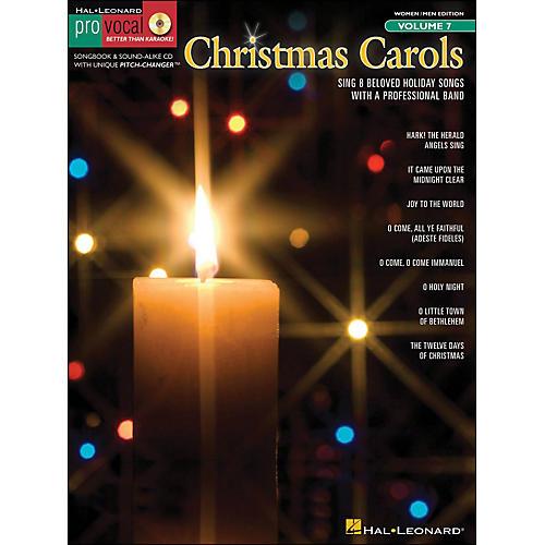Hal Leonard Christmas Carols Pro Vocal Songbook for Women/Men Volume 7 Book/CD