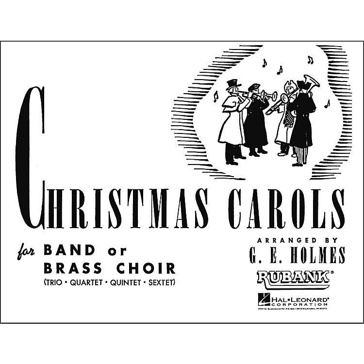 Hal LeonardChristmas Carols for Band Or Brass Choir Bass Clarinet