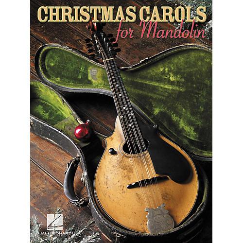 Hal Leonard Christmas Carols for Mandolin (Book)-thumbnail