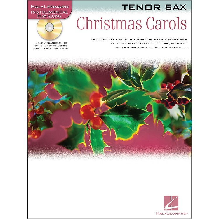 Hal Leonard Christmas Carols for Tenor Sax Book/CD