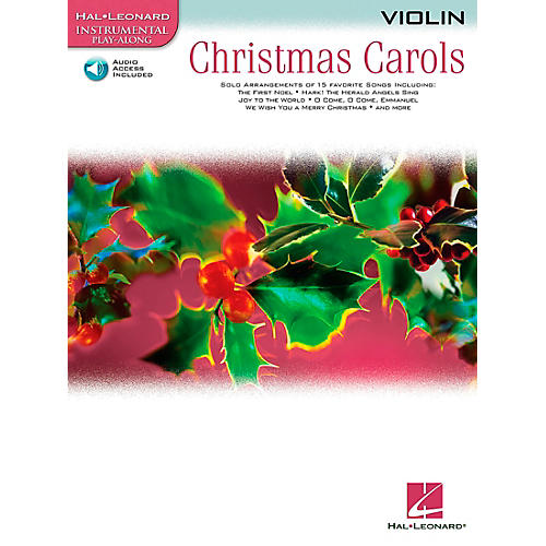 Hal Leonard Christmas Carols for Violin Book/CD-thumbnail