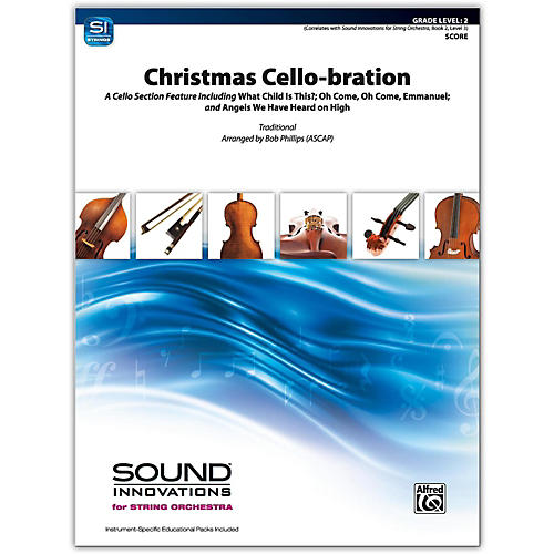 Alfred Christmas Cello-bration Conductor Score 2-thumbnail