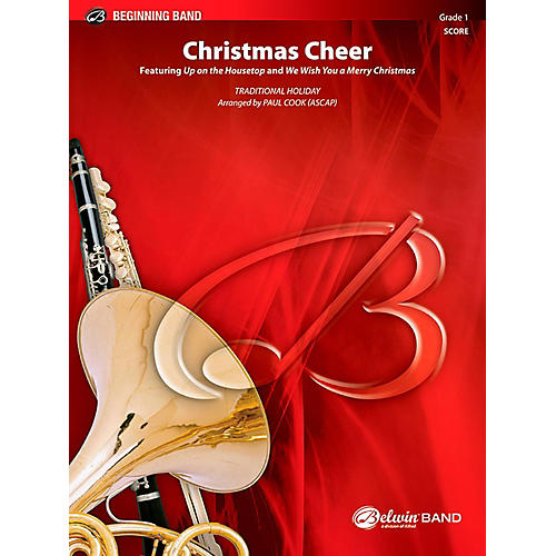 BELWIN Christmas Cheer Concert Band Grade 1 (Very Easy)-thumbnail