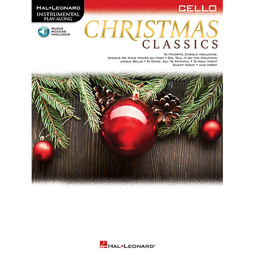 Hal Leonard Christmas Classics (Cello) Instrumental Play-Along Series Softcover Audio Online-thumbnail