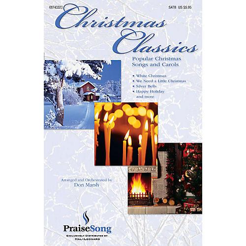 PraiseSong Christmas Classics (Collection) (Popular Christmas Classics and Carols) SATB arranged by Don Marsh-thumbnail