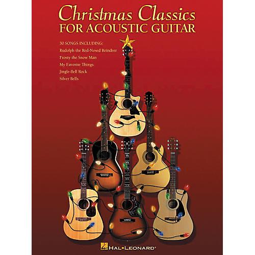 Hal Leonard Christmas Classics for Acoustic Guitar Tab Book
