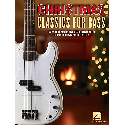 Hal Leonard Christmas Classics for Bass Basic Band II Series Softcover Performed by Various-thumbnail