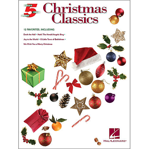 Hal Leonard Christmas Classics for Five Finger Piano