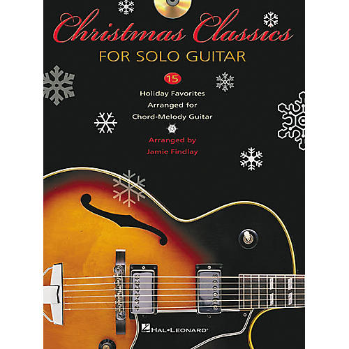 Hal Leonard Christmas Classics for Solo Guitar Tab Songbook with CD