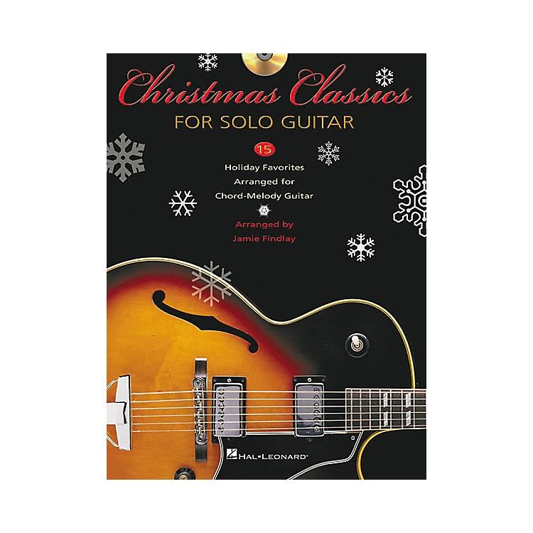 Hal LeonardChristmas Classics for Solo Guitar Tab Songbook with CD