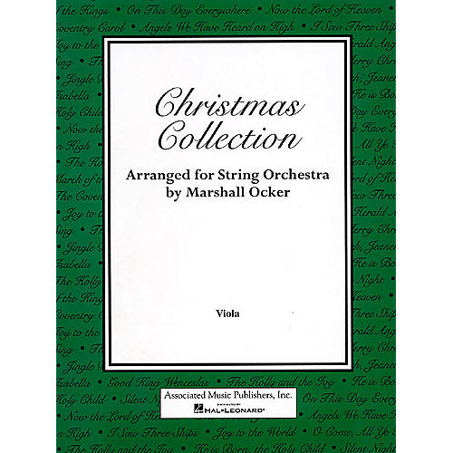 Associated Christmas Collection (Viola Part) Orchestra Series Composed by Various-thumbnail