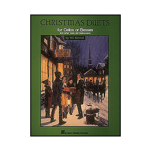Hal Leonard Christmas Duets Cello Bass