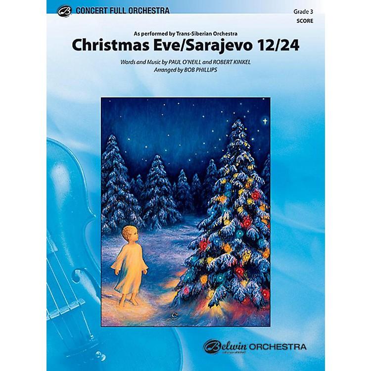 AlfredChristmas Eve/Sarajevo 12/24 Full Orchestra Level 3 Set