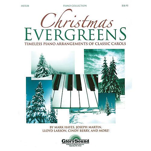 Shawnee Press Christmas Evergreens (Timeless Piano Arrangements of Classic Carols)-thumbnail