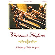 Fred Bock Music Christmas Fanfares (Hymn Flourishes for Organ, Brass and Timpani) arranged by Mark Shepperd