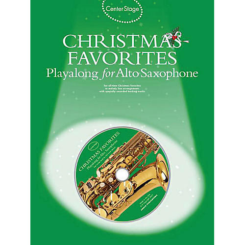 Music Sales Christmas Favorites - Playalong for Alto Sax Music Sales America Series Book with CD-thumbnail