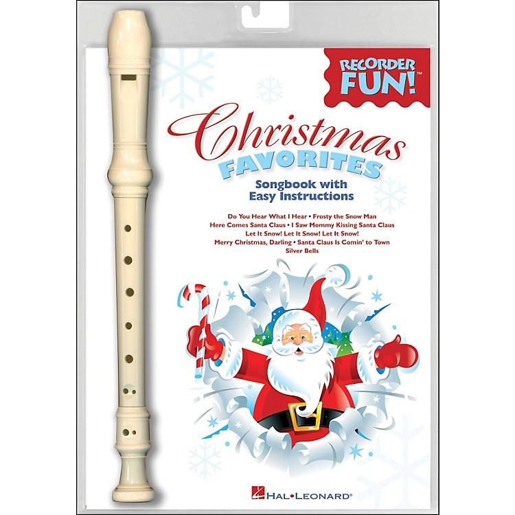 Hal LeonardChristmas Favorites - Recorder Fun! Pack