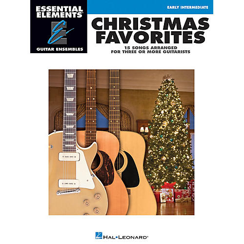 Hal Leonard Christmas Favorites Essential Elements Guitar Series Softcover-thumbnail