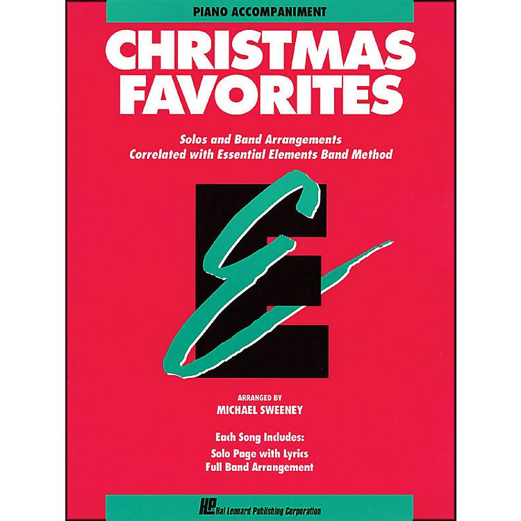Hal LeonardChristmas Favorites Piano Accompaniment